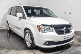 Used 2017 Dodge Grand Caravan CREW STOW N GO CUIR CAMERA DE RECUL TV/D for sale in St-Constant, QC