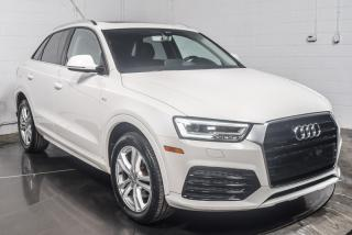 Used 2016 Audi Q3 TECHNIK 2.OT QUATTRO MAGS CUIR TOIT PANO for sale in St-Constant, QC