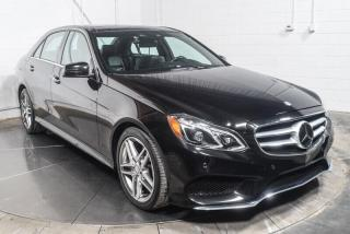 Used 2016 Mercedes-Benz E-Class E300 CUIR NAVIGATION TOIT PANO for sale in Île-Perrot, QC