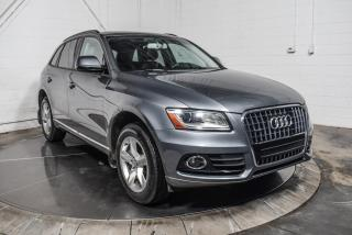 Used 2017 Audi Q5 KOMFORT PLUS QUATTRO CUIR TOIT PANO MAGS for sale in St-Constant, QC