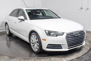 Used 2017 Audi A4 KOMFORT QUATTRO 2.0T CUIR TOIT for sale in Île-Perrot, QC
