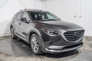 Used 2017 Mazda CX-9 SIGNATURE AWD CUIR NAV TOIT CAMÉRA DE RE for sale in St-Hubert, QC