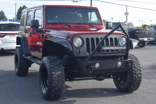 Used 2012 Jeep Wrangler UNLIMITED SPORT LIFT KIT PUSH BAR 2 TOI for sale in St-Constant, QC