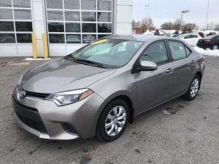 Used 2016 Toyota Corolla LE TRES PROPRE for sale in Châteauguay, QC