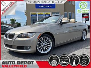 Used 2009 BMW 3 Series Cabriolet 328i + Auto. CUIR, MAGS, TOIT RIGIDE for sale in Salaberry-de-Valleyfield, QC