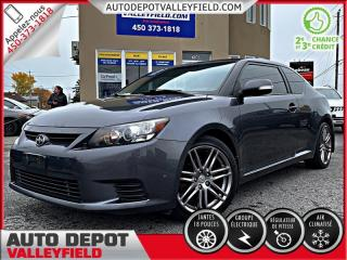 Used 2013 Scion tC Auto + Toit Pano, Mags, Cruise, AC for sale in Salaberry-de-Valleyfield, QC