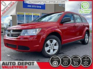 Used 2014 Dodge Journey AC + GROUPE ELECTRIQUE for sale in Salaberry-de-Valleyfield, QC