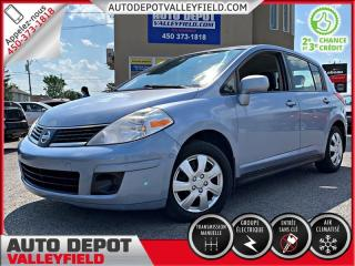 Used 2009 Nissan Versa S + AC, Groupe Électrique for sale in Salaberry-de-Valleyfield, QC