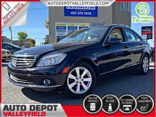 Used 2010 Mercedes-Benz C-Class C250 4MATIC + CUIR, MAGS, TOIT OUVRANT for sale in Salaberry-de-Valleyfield, QC