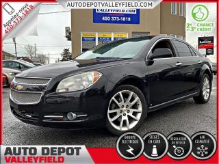 Used 2010 Chevrolet Malibu LTZ + CUIR, TOIT, MAGS for sale in Salaberry-de-Valleyfield, QC