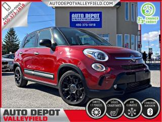 Used 2015 Fiat 500 L TREKKING + Camera, Mags, Cruise, Bluetooth for sale in Salaberry-de-Valleyfield, QC
