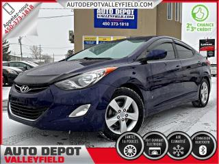 Used 2012 Hyundai Elantra GLS + MAGS, CRUISE, TOIT for sale in Salaberry-de-Valleyfield, QC