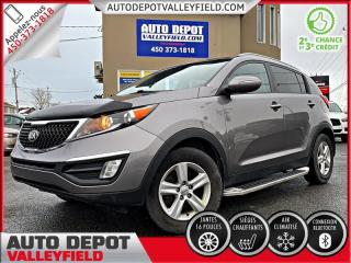 Used 2015 Kia Sportage LX Auto. + AC, Mags, Cruise for sale in Salaberry-de-Valleyfield, QC