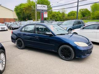 Used 2004 Honda Civic Sdn SE-Manual-Mags-Sieges Cuir for sale in Laval, QC