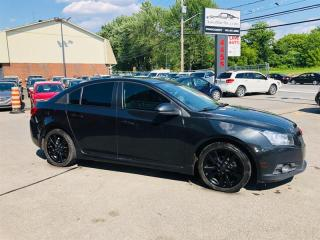 Used 2012 Chevrolet Cruze LT Turbo-Air-Toit-Bluetooth-Mags-Siéges Chauffant for sale in Laval, QC