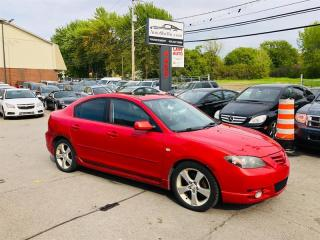 Used 2005 Mazda MAZDA3 GT-Toit-Mags-Tres Economique for sale in Laval, QC