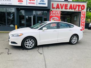 Used 2013 Ford Fusion Blanc-Auto-Air-Bluethooth-Mags-Groupe Electrique for sale in Laval, QC