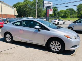 Used 2012 Honda Civic Cpe 1.8L-Auto-Air-Bluetooth-Groupe Electrque-1 Pro for sale in Laval, QC