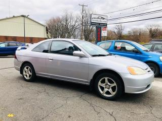 Used 2003 Honda Civic Cpe Coupe-1.7L-Mags-Lecteur CD-Groupe Electrique for sale in Laval, QC