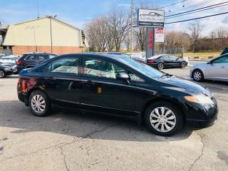 Used 2008 Honda Civic Sdn EX-L-1.8L-Air-Cuir-Toit Ouvrant-Siéges Chauffa for sale in Laval, QC