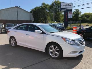 Used 2011 Hyundai Sonata Limited-Air-Cuir-Toit-Mags-Jamais Accidentée for sale in Laval, QC
