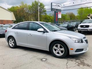Used 2012 Chevrolet Cruze LT Turbo-1.4L-Auto-Mags-Bluetooth for sale in Laval, QC