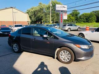 Used 2012 Honda Civic Sdn 1.8L-Air-Bluetooth-Groupe Electrique-1 Proprio for sale in Laval, QC