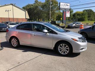 Used 2012 Honda Civic Sdn Air-Mags-Toit-Bluetooth-Fog-Groupe Electrique for sale in Laval, QC