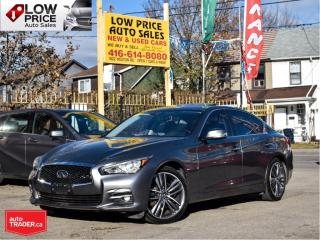 Used 2015 Infiniti Q50 AWD*Nav*Camera*HtdSeats*Warranty*NoAccident* for sale in Toronto, ON