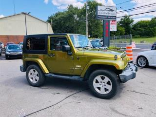Used 2007 Jeep Wrangler Air-Mags-Toit-Groupe Electrique-Jamais Accidentée for sale in Laval, QC