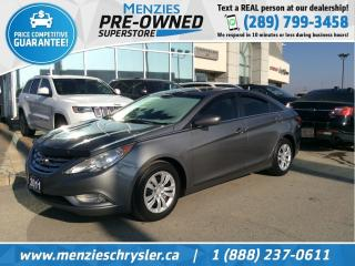 Used 2011 Hyundai Sonata GLS, Bluetooth, Sunroof, One Owner for sale in Whitby, ON