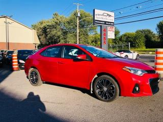 Used 2015 Toyota Corolla Type S-Air-Toit-Mags-Siéges Chauffant-1 Proprio for sale in Laval, QC