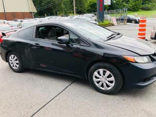 Used 2012 Honda Civic Cpe Besoin beaucoup damour-1.8L-Air-Toit for sale in Laval, QC