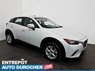 Used 2016 Mazda CX-3 GS TOIT OUVRANT - AIR CLIMATISÉ - CUIR for sale in Laval, QC