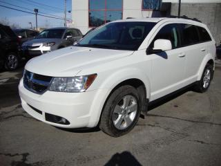 Used 2010 Dodge Journey Blanc Pearl for sale in Pierrefonds, QC