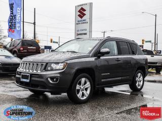 Used 2015 Jeep Compass High Altitude  4x4 ~Heated Leather ~Power Moonroof for sale in Barrie, ON