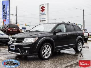 Used 2014 Dodge Journey R/T AWD ~7 Passenger ~Nav ~DVD ~Heated Leather for sale in Barrie, ON
