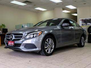 Used 2016 Mercedes-Benz C 300 4MATIC|NAVIGATION|BLIND|DUAL ROOF|REAR CAMERA|LTHR for sale in Kitchener, ON