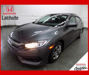 Used 2016 Honda Civic LX/AUTO/ GARANTIE 2023 for sale in Lachute, QC