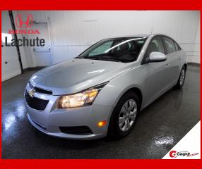 Used 2013 Chevrolet Cruze LT turbo GARANTIE 36 MOIS !!! for sale in Lachute, QC