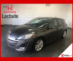 Used 2010 Mazda MAZDA3 MAZDA3 HB GT Sport GARANTIE 36 MOIS !!! for sale in Lachute, QC