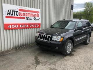 Used 2010 Jeep Grand Cherokee Limitée - GARANTIE 1AN/15000KMS for sale in St-Joseph-Du-Lac, QC