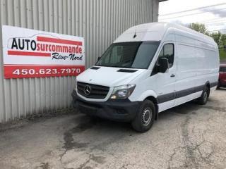 Used 2015 Mercedes-Benz Sprinter -- DIESEL --  HAUT/LONG -- GARANTIE 1 AN / 15 000 for sale in St-Joseph-Du-Lac, QC