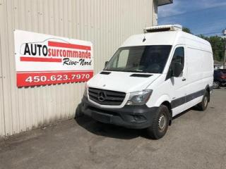 Used 2014 Mercedes-Benz Sprinter REFRIGERE -- GARANTIE 1AN/15 000 KMS for sale in St-Joseph-Du-Lac, QC
