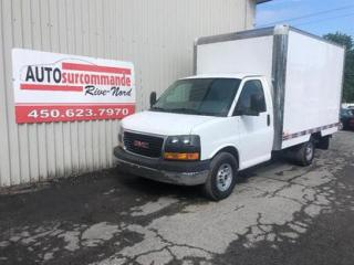Used 2009 GMC Savana 3 500 -- GARANTIE 1AN/15 000 KMS -- for sale in St-Joseph-Du-Lac, QC