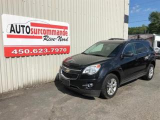 Used 2013 Chevrolet Equinox LT -- GARANTIE 1 AN/ 15 000 KMS -- for sale in St-Joseph-Du-Lac, QC