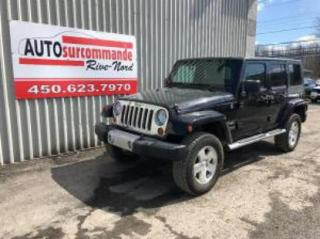 Used 2010 Jeep Wrangler Sahara for sale in St-Joseph-Du-Lac, QC