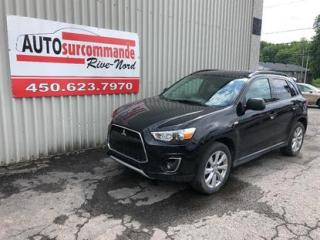 Used 2015 Mitsubishi RVR GT  -- GARANTIE 1AN / 15 000 KMS -- for sale in St-Joseph-Du-Lac, QC