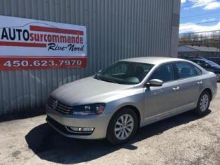 Used 2013 Volkswagen Passat Trendline for sale in St-Joseph-Du-Lac, QC