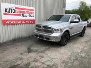 Used 2015 RAM 1500 Longhorn -- GARANTIE 1 AN / 15 000 KMS -- for sale in St-Joseph-Du-Lac, QC